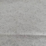 cotton eyelet embroidery fabric